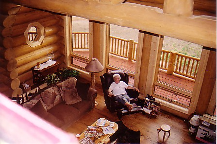 24July05 cabin living room from above.jpg
