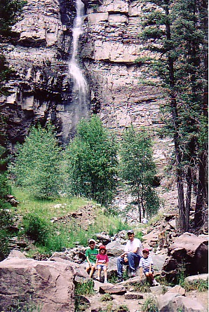 Ouray trip 05 in front of Cascade Falls.jpg