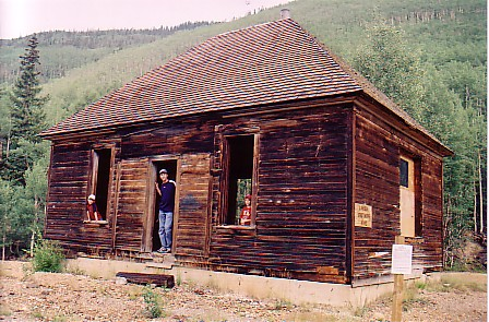 Ouray trip 05 old mine bldg near Idarado mine.jpg