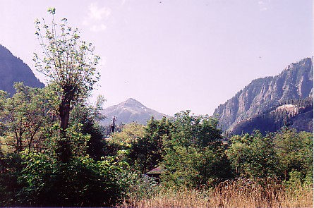 Ouray trip 05 view of Mt Abrams behind condo.jpg