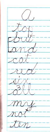 Sophie spelling log A.jpg
